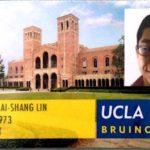 Spring Semester 2018 undergrad scholarship winner james lin